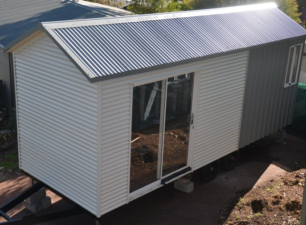 Designs up to 3500kg tiny homes perth sea shell cozy for Loft home designs perth