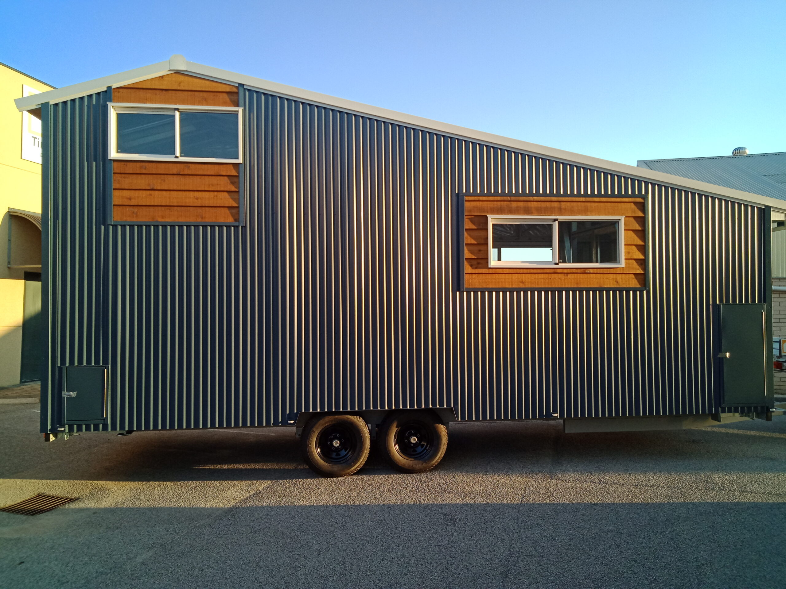 Rubel Tiny Home Back
